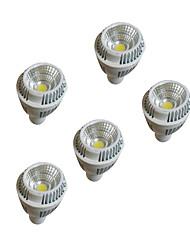 5pcs 7w LED GU10 220-240v chaud lumières dimmablesp blanc tasse plafond de gradation