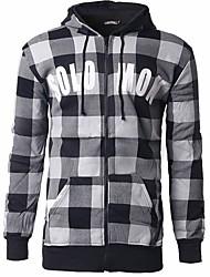 Sweatshirt Hommes Décontracté / Quotidien Chic de Rue Imprimé Col Arrondi Non Elastique Coton Manches Longues Automne Hiver