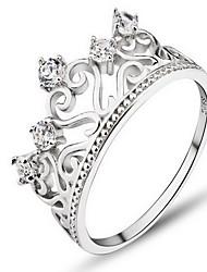Ringe Ohne Stein Party Alltag Schmuck Sterling Silber Damen Ring 1 Stück,13 14 15 18 16.0 17 Silber