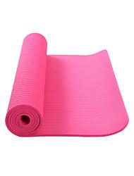 TPE Yoga Mats Ecológico Sem Cheiros 8.0 mm Rosa Verde Roxa Roxo Escuro Other