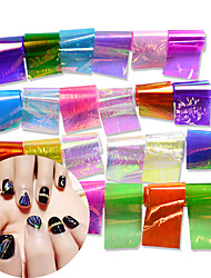 24 Nail Art Sticker  Water Transfer Decals Makeup Cosmetic Nail Art Design