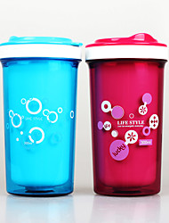 300ml Double Layer Cool Water Bottle for Kids