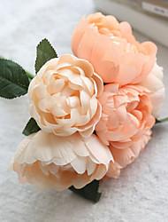 1 Филиал Шелк Пионы Букеты на стол Искусственные Цветы 24*24*27