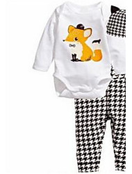 Baby Unisex Casual/Daily Animal Print Clothing Set Spring Fall