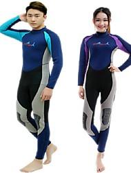 BlueDive® Unisexe 2mm Costumes humides Combinaison de plongée Combinaison  IntégraleGarder au chaud Séchage rapide Résistant aux