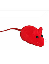 Cat Toy Pet Toys Squeaking Toy Squeak / Squeaking Mouse Random Color Rubber