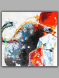 100%  Hand-Painted Abstract / People  Bullbight Hang-Painted Oil PaintingModern / Classic One Panel Canvas Oil Painting For Home Decoration