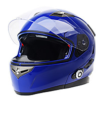 bt Bluetooth Intercom-Sprechanlage Kopfhörer mit fm für Intergral / full-face / Halb Gesicht / Flip-up motocycle helmet