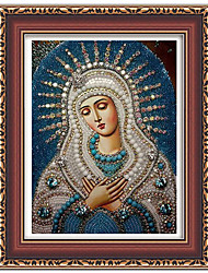 1Pcs 5D Round Diamond Painting DIY Diamond Painting Cross Stitch Home Decor Diamond Embroidery Mosaic Religious For People Gift