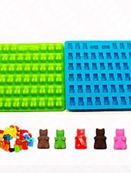 выпечке Mold Животный принт конфеты силиконовый Антипригарное покрытие Праздник Сделай-сам 3D Высокое качество