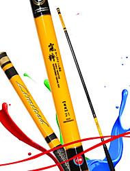 Fishing Rod Telespin Rod Carbon steel 360 M General Fishing Rod Yellow