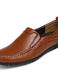 Loafers masculinos&Slip-ons verão primavera conforto outro animal pele escritório&Partido carreira&Noite escuro casual