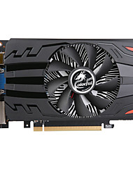 colorful® de vídeo da placa gráfica gt730k 2gd5 1046mhz / 5000mhz DDR5 2gb / 64bit