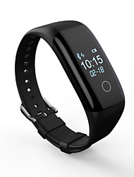 Smart Bracelet Heart Rate Monitor Message Control Audio Sleep Tracker Find My Device Alarm Clock Community Share Bluetooth4.0No Sim Card