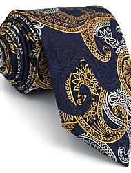 B13 Mens Necktie Tie Multicolor Paisley 100% Silk Business Fashion Wedding For Men