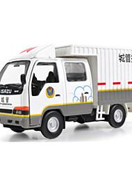 Militärfahrzeuge Pull Back Fahrzeuge 1:10 Metall Weiß