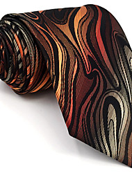 BXL17 Mens Ties Multicolor Geometric Fringe 100% Silk Business Fashion Wedding New For Men