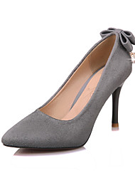 Damen-High Heels-Kleid-Kunstleder-Stöckelabsatz-Andere-Schwarz Rosa Grau