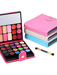 32 Colors Fashion Eye Shadow Make Up Shadows With Case Cosmetics For Women Oogschaduw 4Colors
