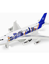 Planes & Helicopters Push & Pull Toys 1:10 Metal Blue Ivory