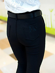 Sign velvet new Korean yards significant lanky outer wear leggings pantyhose pencil pants tide