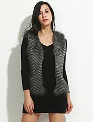 Для женщин Для женщин Верхняя одежда Искусственный мех