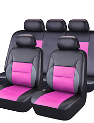2017 New PU Leather Auto Car-Covers Full Synthetic Set Seat Covers