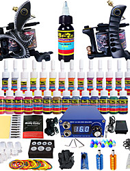 solong tattoo beginner tattoo kit 2 promachine s voeding naald grips tips ons dispatch