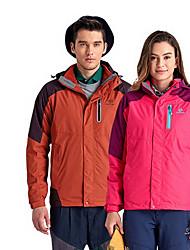 Trilha Blusas Unissexo Forro de Velocino Primavera Outono Inverno Vermelho Marron M L XL Esportes Relaxantes