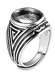 Ringe / Party Alltag Normal Schmuck Aleación Herren Ring 1 Stück,Verstellbar Silber