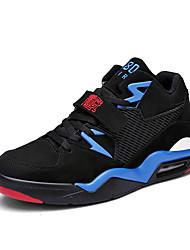 Men's Athletic Shoes Spring Fall Winter Comfort Fleece Outdoor Athletic Casual Flat Heel Split Joint Lace-up/Hook & Loop