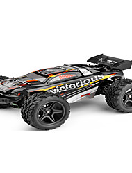 Truggy WLToys 1:12 Bürster Elektromotor RC Auto 35 2.4G Schwarz Fertig zum MitnehmenFerngesteuertes Auto Fernsteuerung/Sender