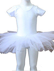 Nylon/Lycra Short Sleeve Leotard Tutus More Colors for Ladies and Girls