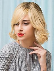 attrayant couches belle capless perruques de cheveux humains droite naturelle