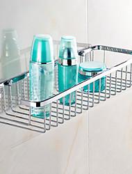 Badezimmer Regal / HochglanzpoliertEdelstahl /Modern