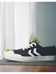 Unisex Sneakers Winter Leatherette Casual White Black