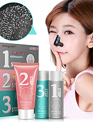 1Set Blackhead Remover Mask Pore Cleaner Facial Essence Liquid Face Skin Care Set