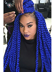 Havana mambo twist crochet braids Box Braids synthetic hair braiding Crochet Twist Braids Hair Extensions Kanekalon Hair Braids hair extension