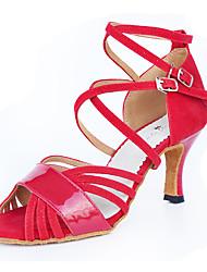 Для женщин-Бархатистая отделка-Персонализируемая(Красный) -Латина