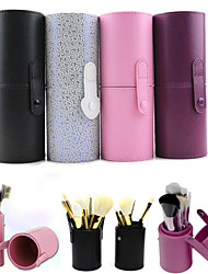 Makeup Storage Cosmetic Bag Cosmetic Box 17.5*6.5 Black Purple Pink Multi-color Random color
