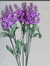 1Pc Lavender Flowers Provence Simulation 10 Head Special Offer Provence Lavender