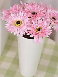 1 Branch Gerbera Artificial Flowers (Random color)