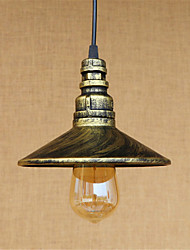 40W Pendant Light   Rustic/Lodge Vintage Country Antique Brass Feature for Mini Style Designers MetalLiving Room Bedroom Dining Room