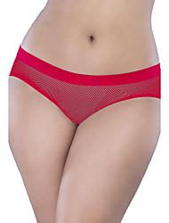 Femme Sexy Dentelle Couleur Pleine C-strings Sous-vêtements Ultra Sexy Sans couturePolyester Spandex