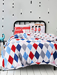 Geometric Quilts Material Queen 1pc Bedspread Not Include Pillowcase