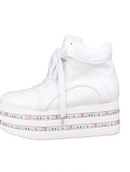 04 station muffin heavy-bottomed increased casual shoes double led light-emitting luminous shoes shoes leather high-top shoes