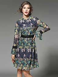 Maxlindy Women's Going out / Party/Cocktail / Holiday Vintage / Street chic /A Line Dress