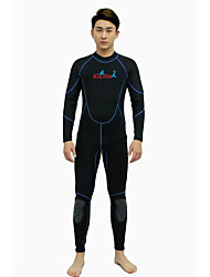 BlueDive® Unisex 2mm Wetsuits Wetsuit Skin Dive Skins Full Wetsuit Thermal / Warm Quick Dry YKK Zipper Soft Sunscreen Full BodyNylon