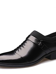 IMBETTUY Men's Fashion Business Faux/PU Leather Pointed Toe Shoes