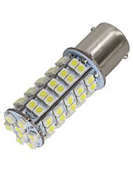 4pcs P21W 382 BA15S 1156 68 3528 SMD LED vermelho cauda branca reverter indicador foglight